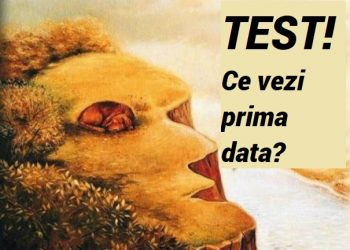 Ce vezi prima data test