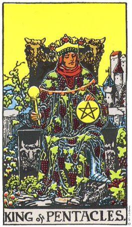 horoscop tarot - king-of-pentacles-263x450