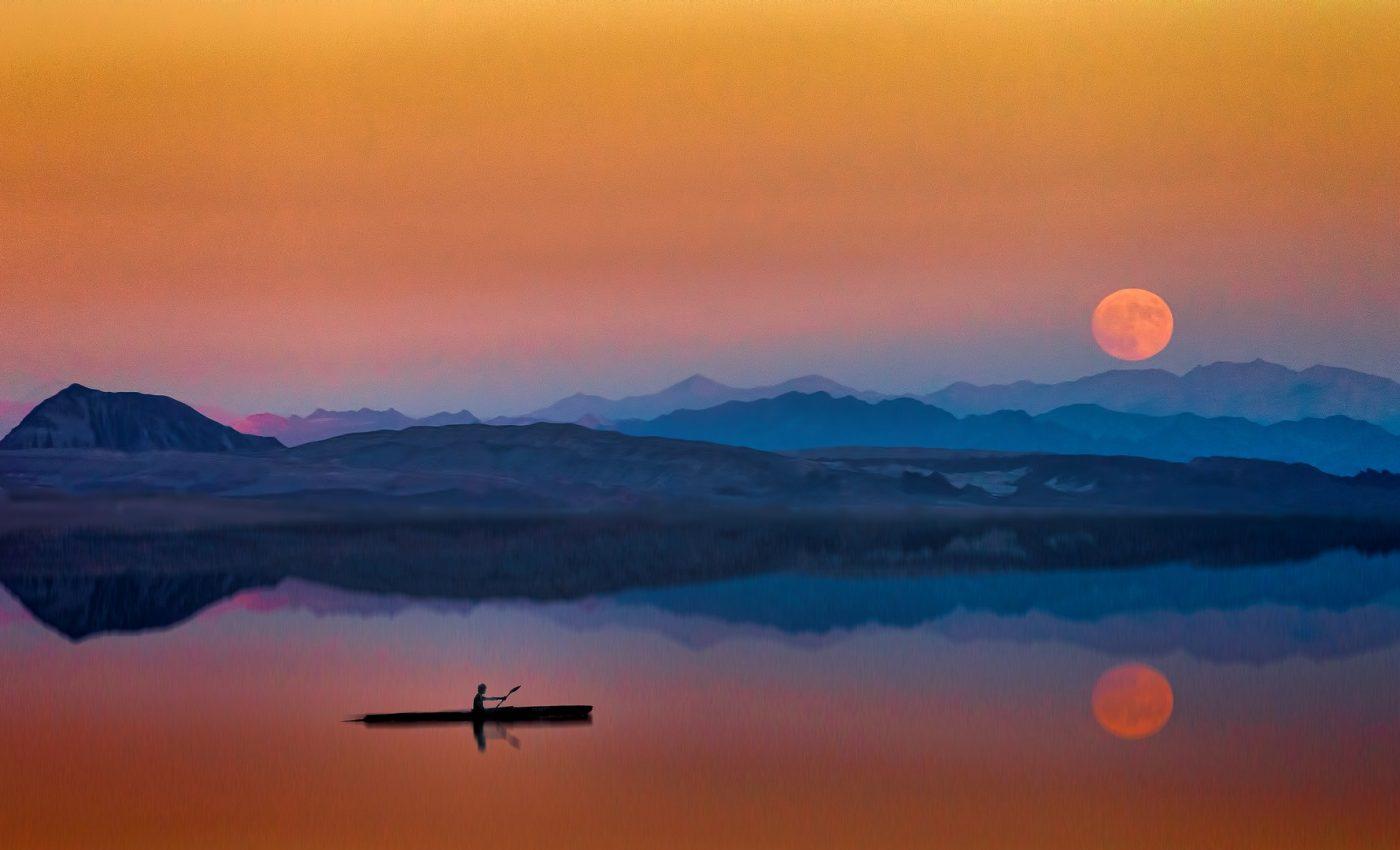 luna plina - sfatulparintilor.ro - pixabay_com - sunset-3102750_1920