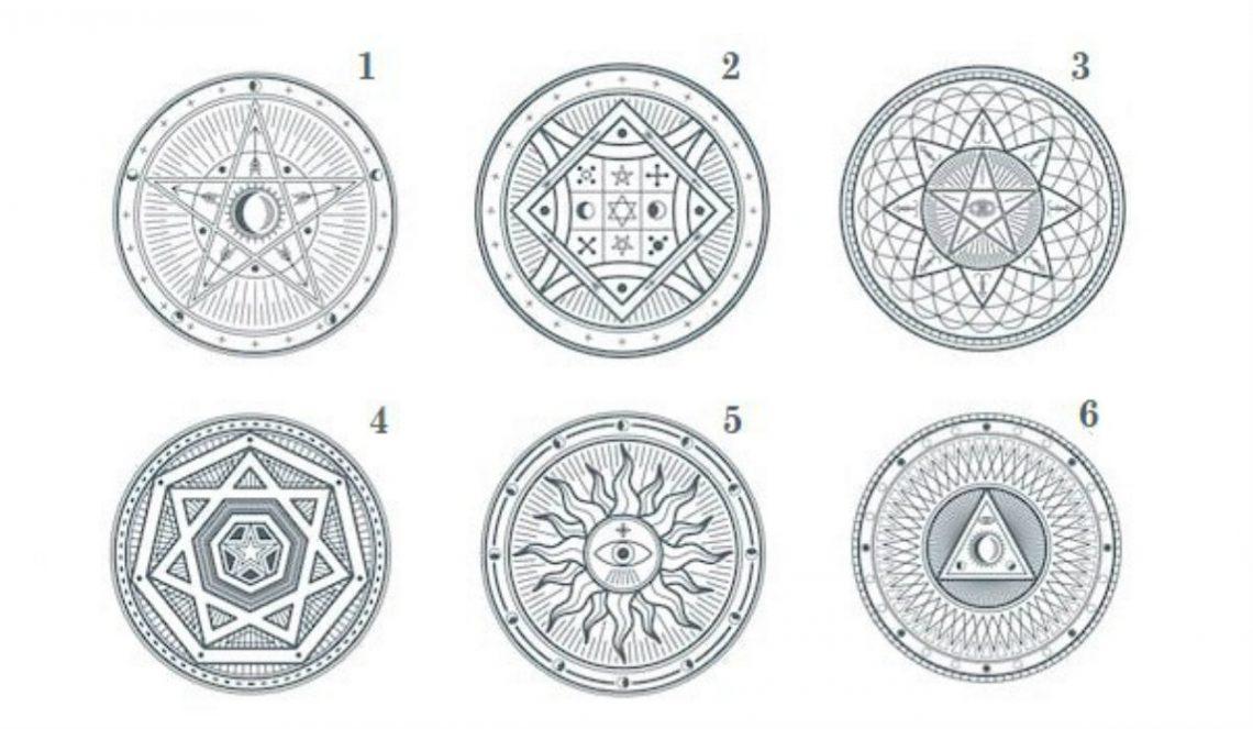 Alege un simbol MISTIC
