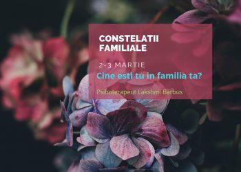 WORKSHOPUL DE CONSTELATII FAMILIALE este un workshop experiential, care iti ofera posibilitatea de a merge dincolo de cunoscut, scotand la lumina realitati ascunse ale subconstientului si de a modifica in timp real energia psiho-emotionala.