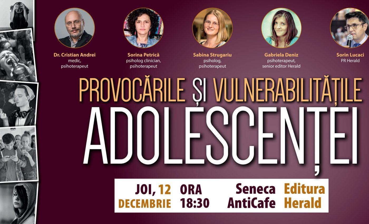 Provocările și vulnerabilitățile adolescenței