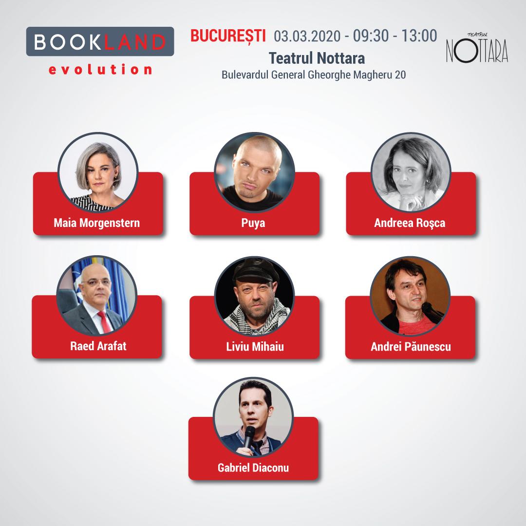Conferintele BookLand Evolution 2020