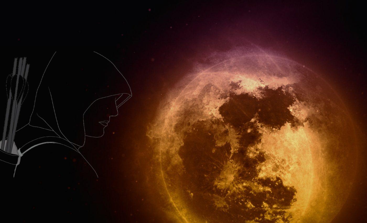 ECLIPSA de Luna plina in Sagetator