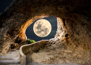 Luna plina a Vanatorului.  1 octombrie 2020. Ritual pentru Luna plina in Berbec