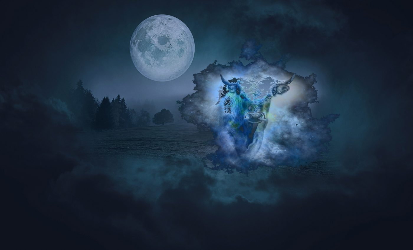 luna plina in taur - sfatulparintilor.ro - pixabay-com - landscape-4418215_1920