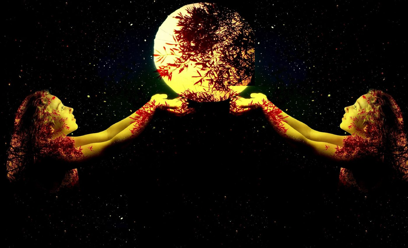 luna plina in gemeni