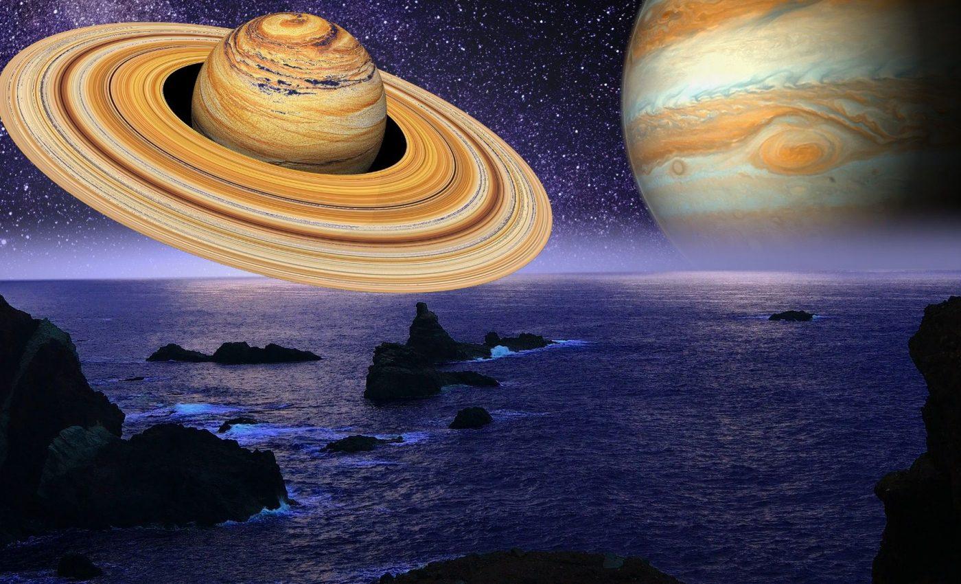 Conjunctie Saturn-Jupiter