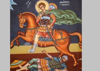 acatistul sfantului dimitrie - sfatulparintilor.ro - pixabay_com - saint-demetrius-2122295_1920